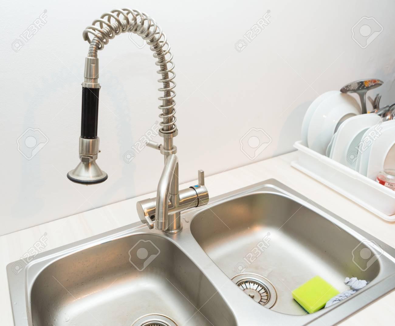 Wasserhahn Für Küchenspüle | Küche Wasserhahn Grohe Wunderbar 20 ...