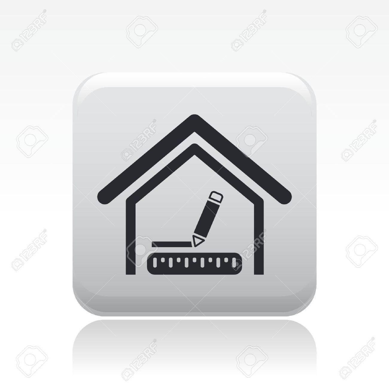 Interieur Icon Vector Illustration Of Single Isolated Interior Design Icon