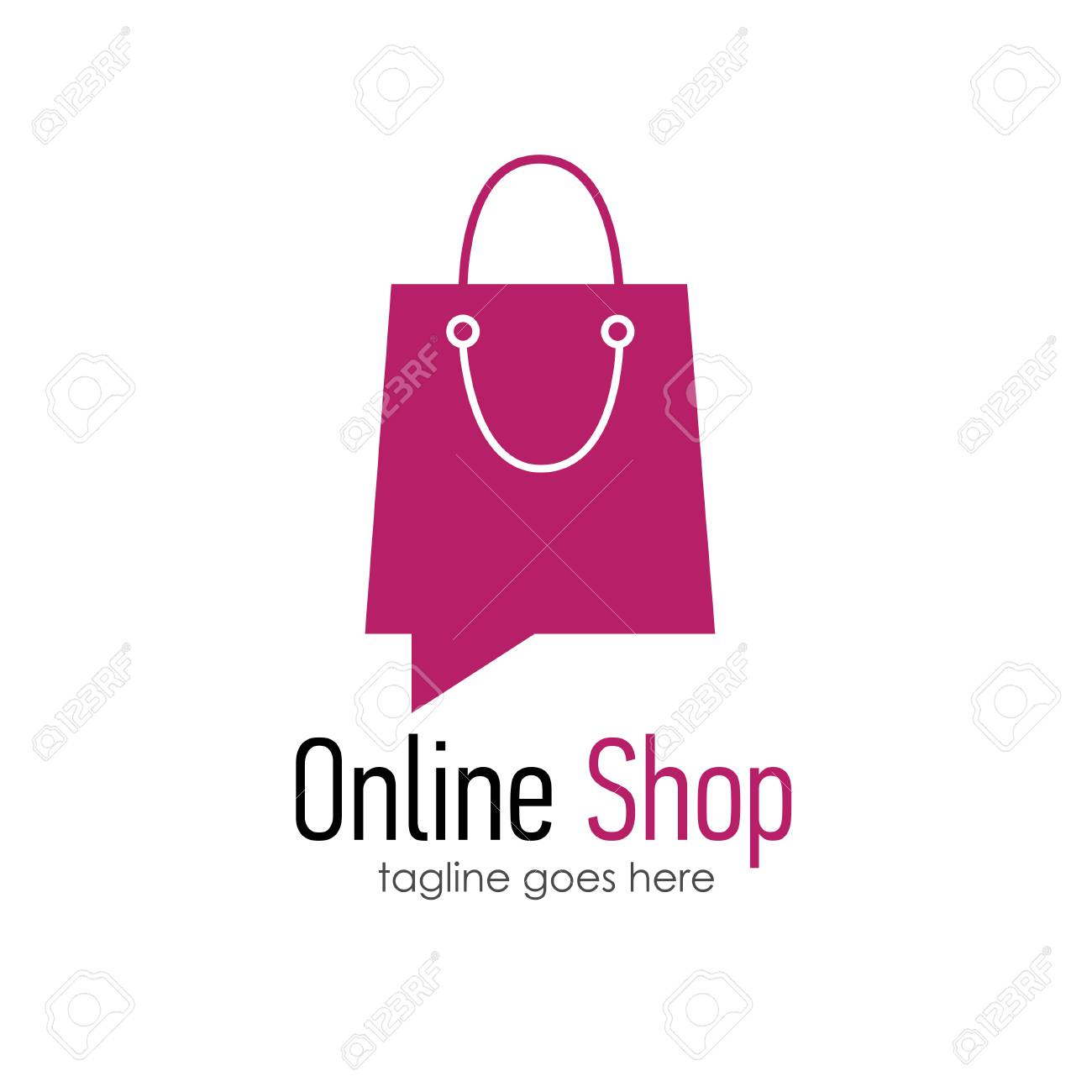 Design Online Shop Online Shop Logo Design Template