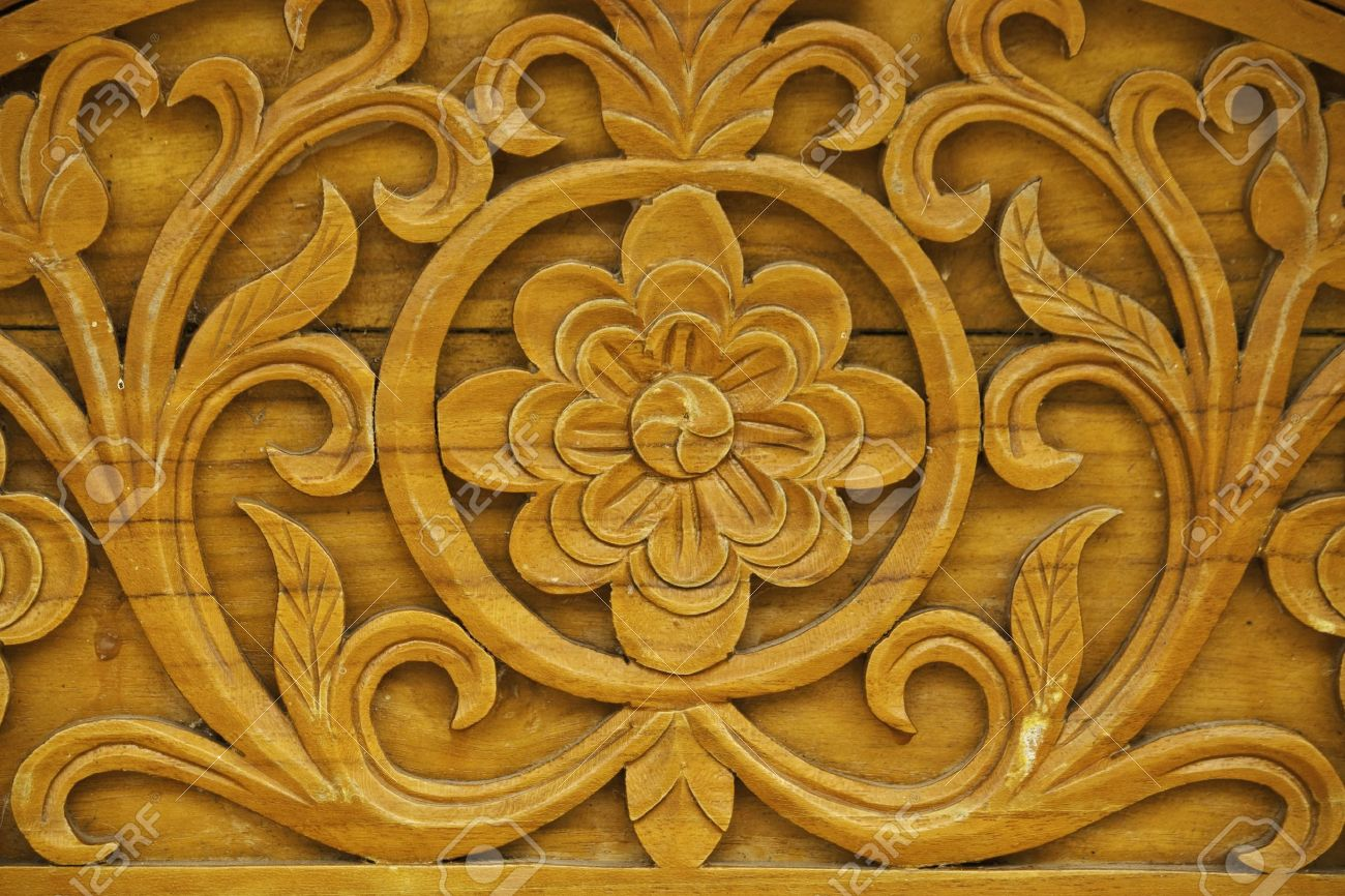 Wood carving designs furniture - Wood Carving Designs Furniture Detail Of Carved Wood Decorative Stock Photo 10178738 Download