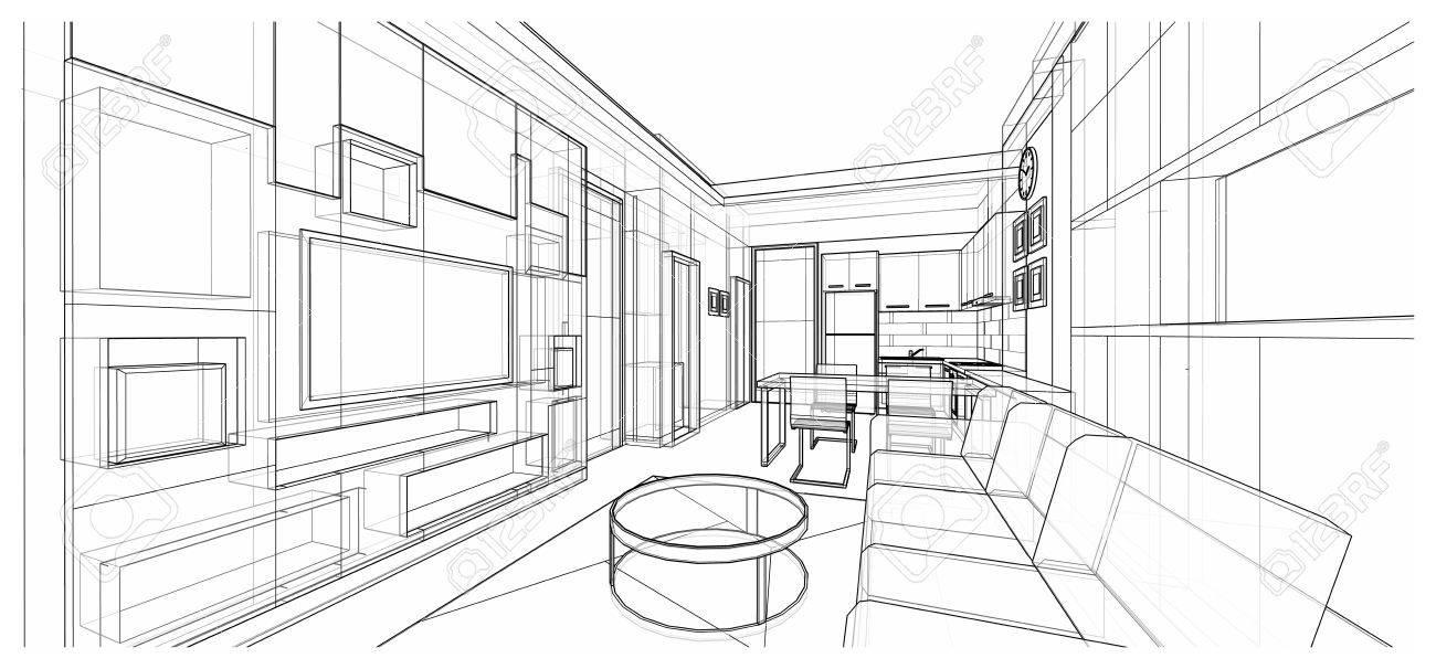 aménagement d'intérieur appartement | projet architecture interieure