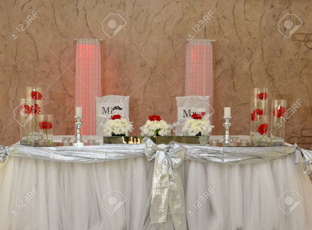 ... Bride And Groom Table Decoration. Download