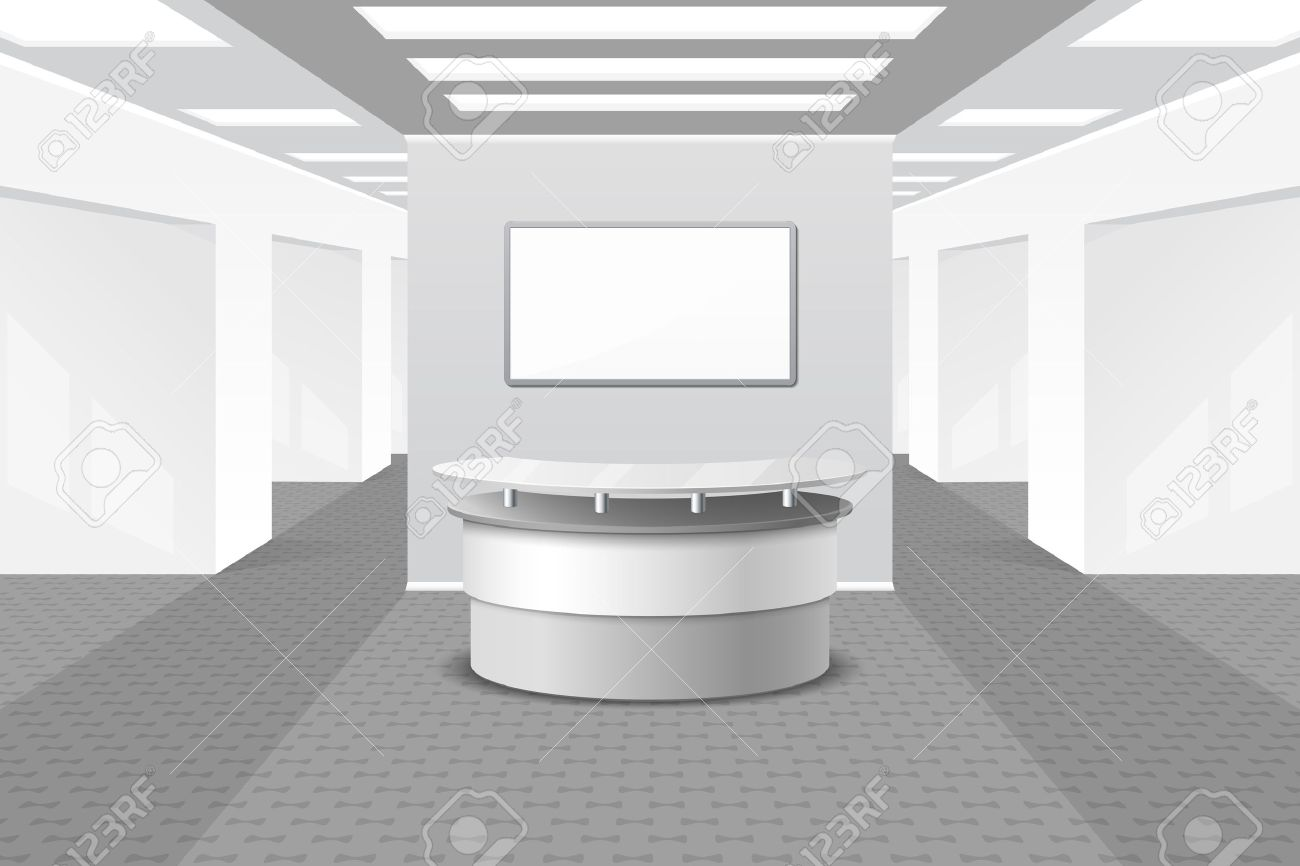 Möbel Für Büro Stock Photo