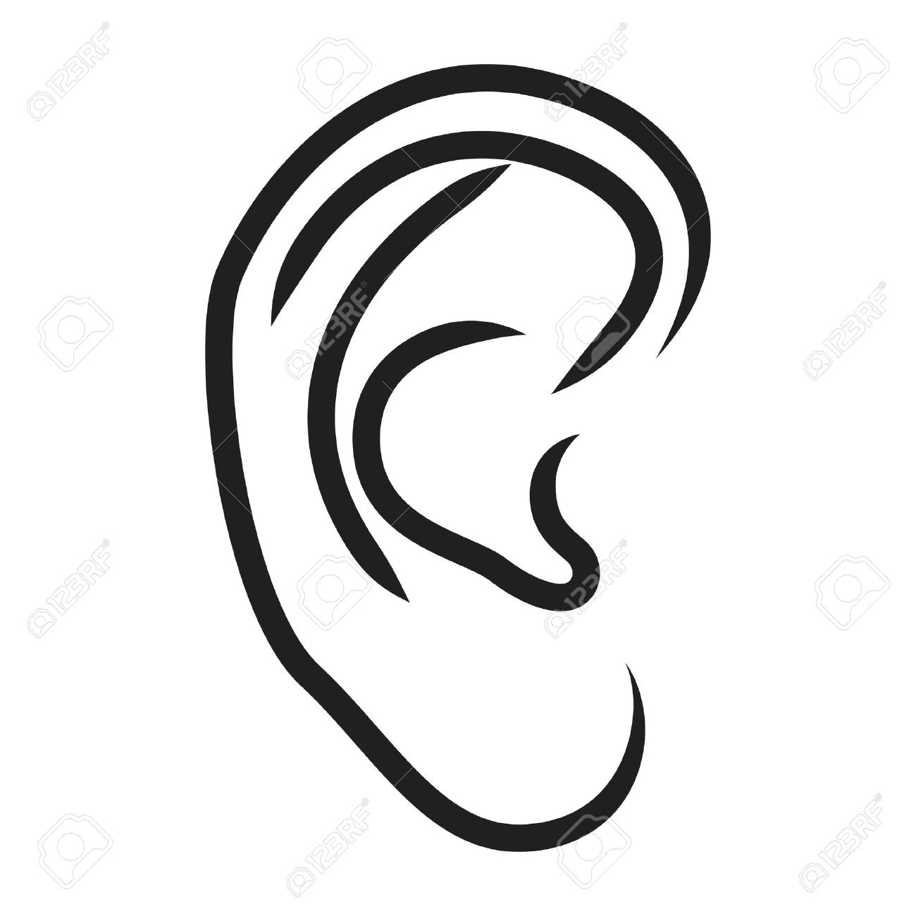 Drawing human ear royalty free stock photography image 25570937 - Drawing Human Ear Royalty Free Stock Photography Image 25570937 Drawing Human Ear Royalty Free Stock