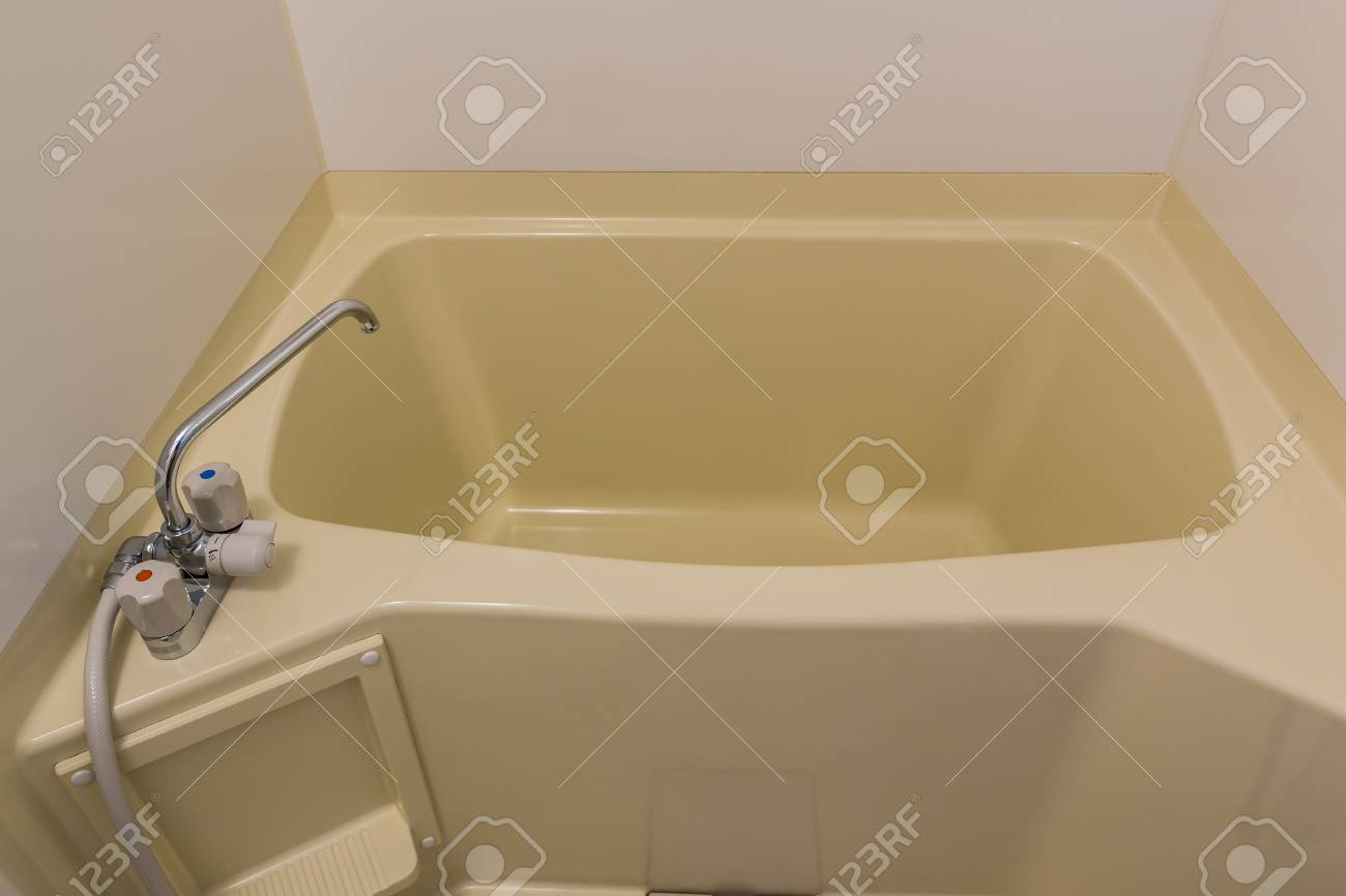 Japan Badewanne Wasser Stock Photo