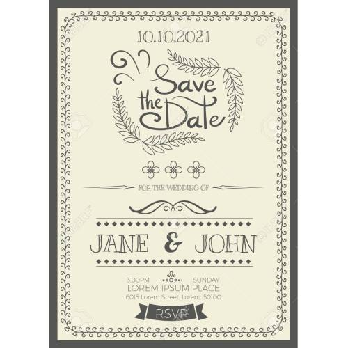 Medium Crop Of Wedding Invitation Size