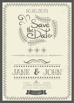 Small Of Wedding Invitation Size
