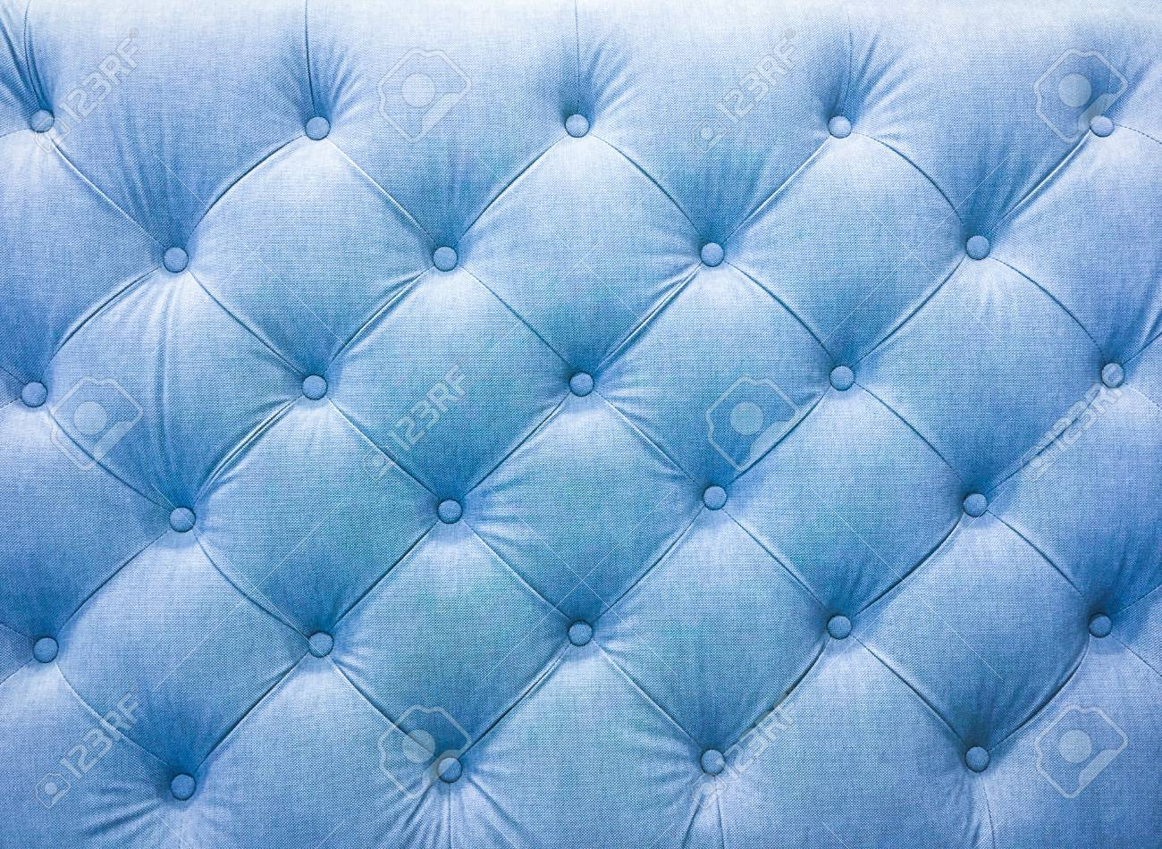 Sofa Fabric Upholstery Sofa Fabric With Rivets Blue Tone
