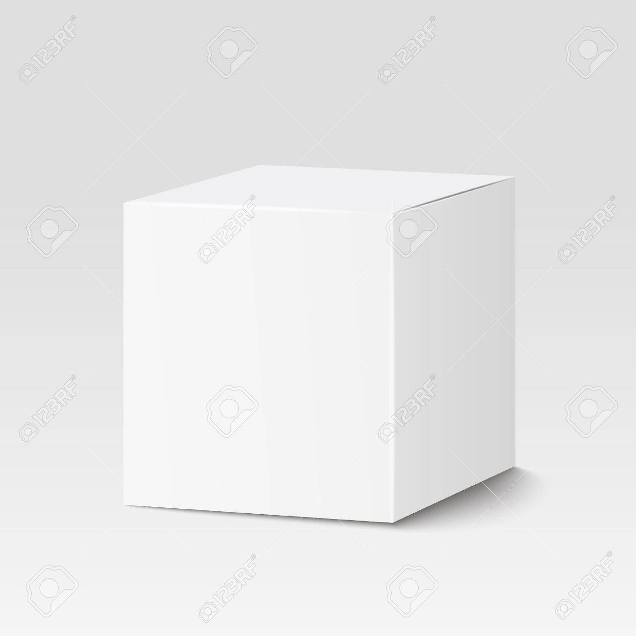 Square Box White Square Box Container Packaging