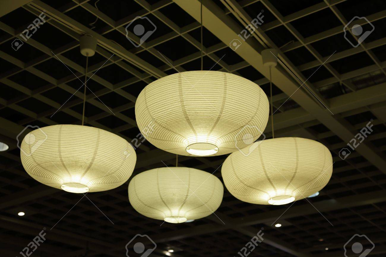 Paper Light Shades Ceiling Lights With Paper Lamp Shades