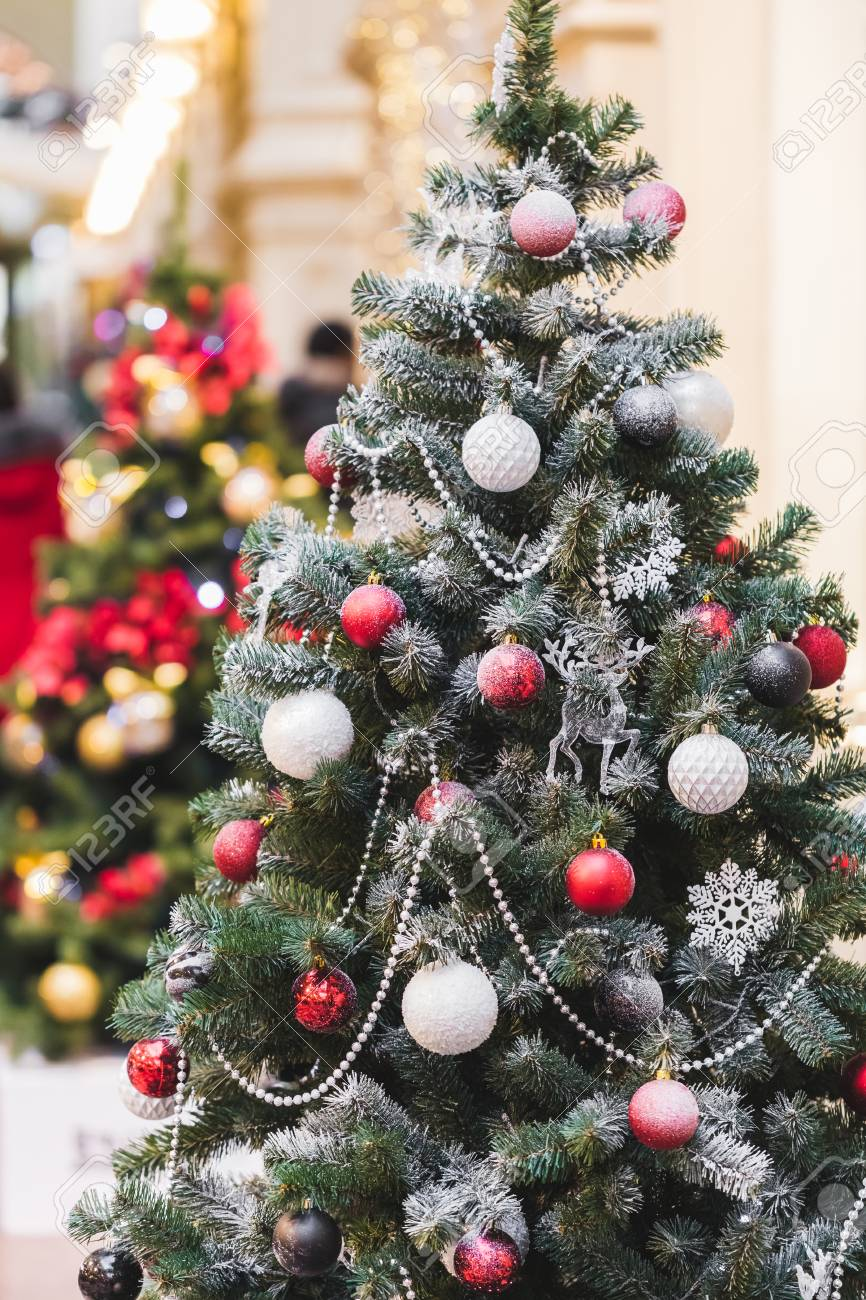 Weihnachtsbaum Ideen Stock Photo