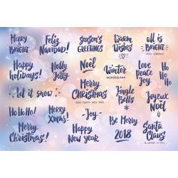Natural Colleagues Holiday Greeting Quotes Wishes Hand Drawn Text 90590383 Set Coworkers Holiday Wishes Quotes Labels Photo Holiday Wishes Quotes Cards Gift Tags
