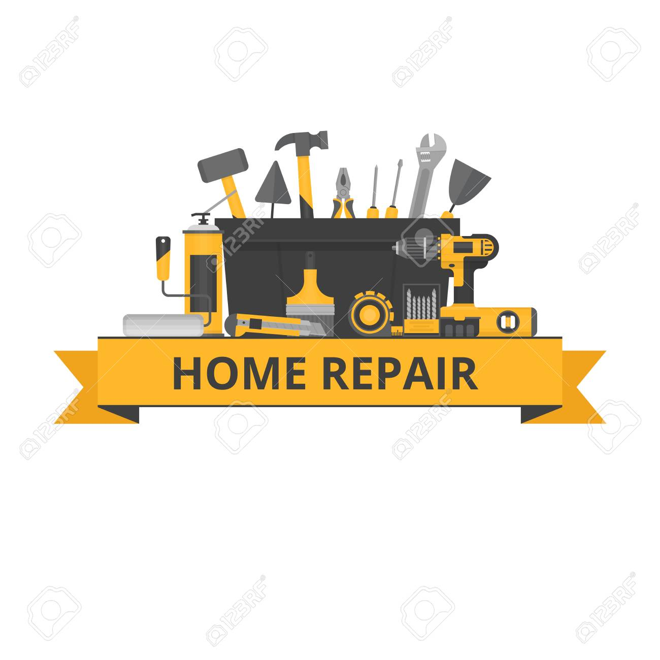 Construction Repair Home Repair Objects Construction Tools Hand Tools For Home