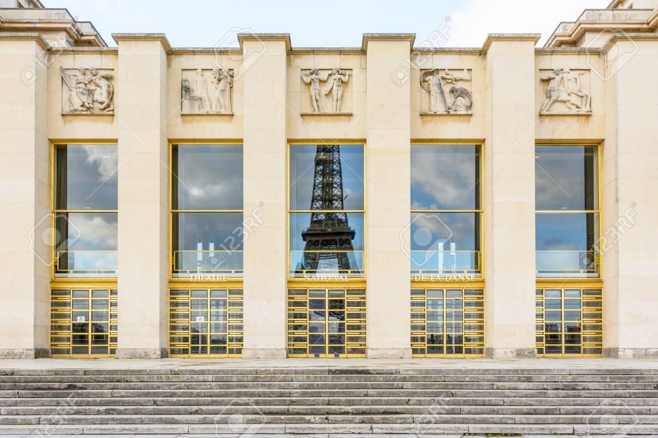 Arts Deco Paris Paris France December 18 2017 Front View Of The Art Deco