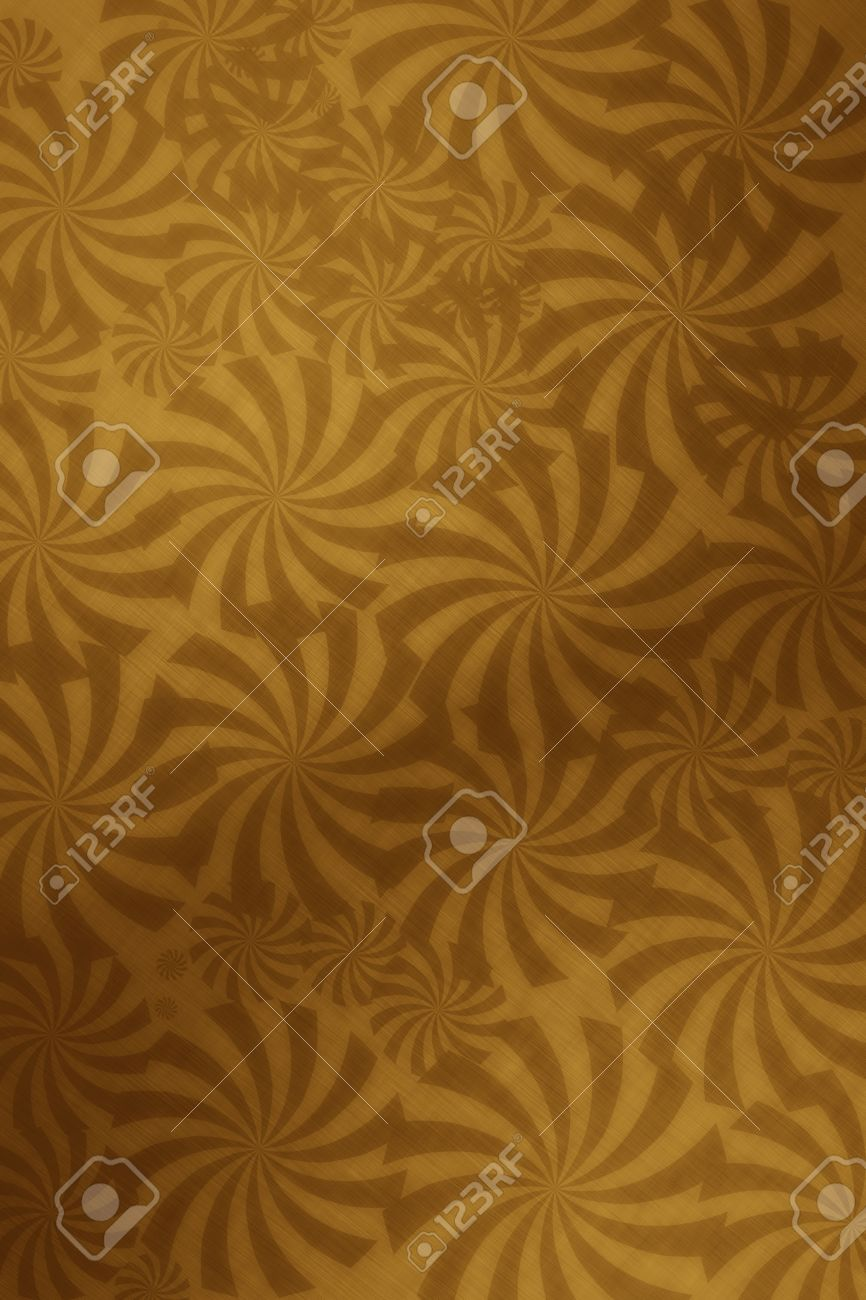Wandgestaltung Gold Stock Photo