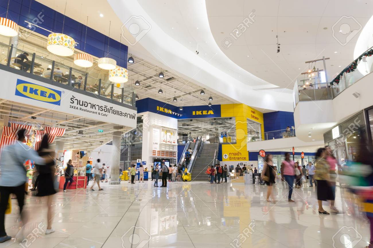 Ikea Front Smut Prakan , Thailand - December 10,2017 : Front Shop Of Ikea.. Stock Photo, Picture And Royalty Free Image. Image 91727716.