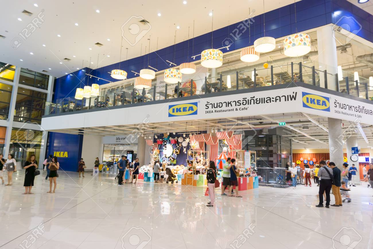 Ikea Front Smut Prakan , Thailand - December 10,2017 : Front Shop Of Ikea.. Stock Photo, Picture And Royalty Free Image. Image 91727717.