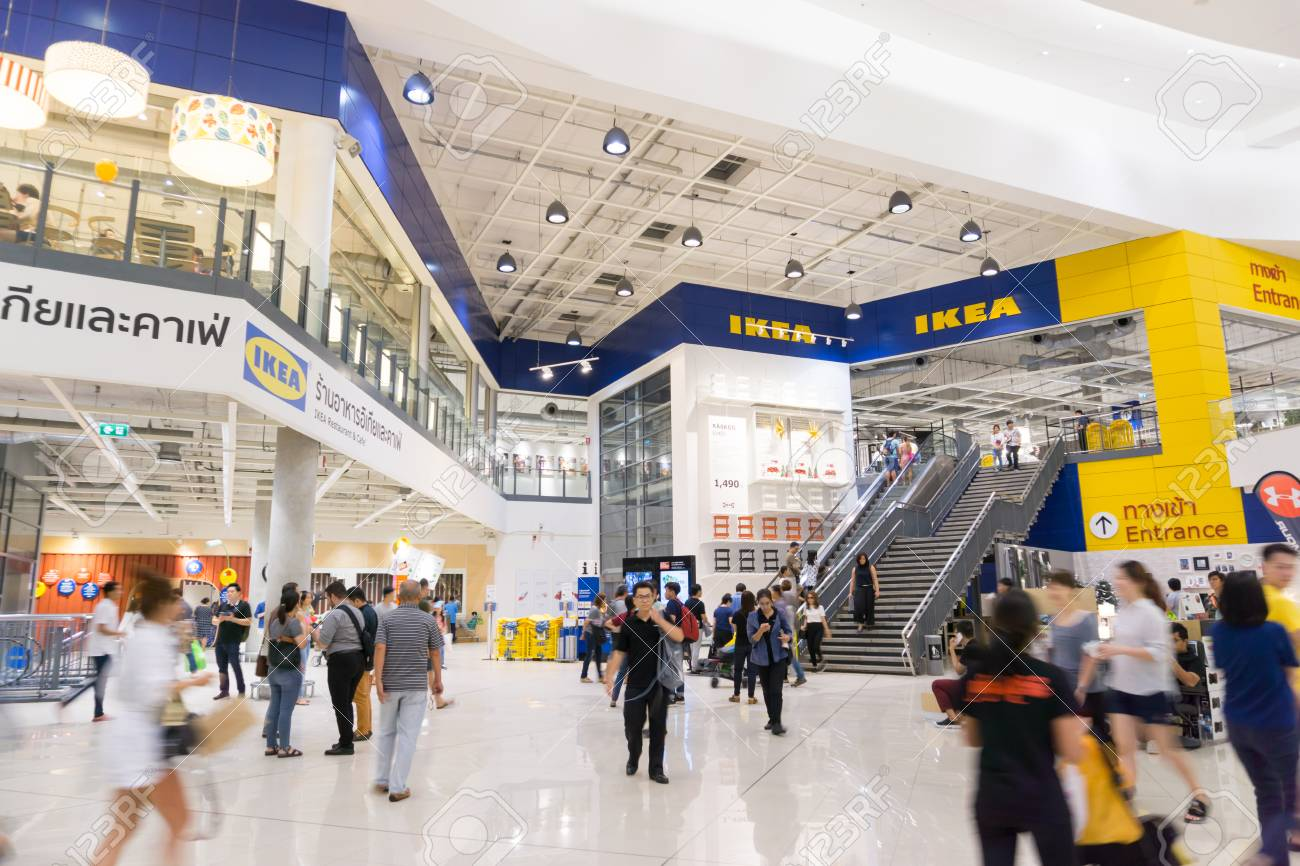 Ikea Front Smut Prakan , Thailand - December 10,2017 : Front Shop Of Ikea.. Stock Photo, Picture And Royalty Free Image. Image 91727763.