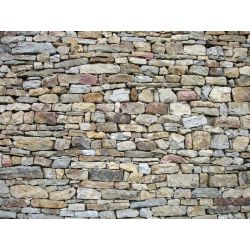 Small Crop Of Stone Wall Texture