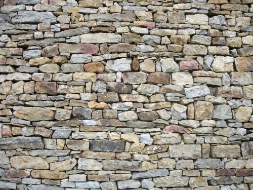 Medium Of Stone Wall Texture