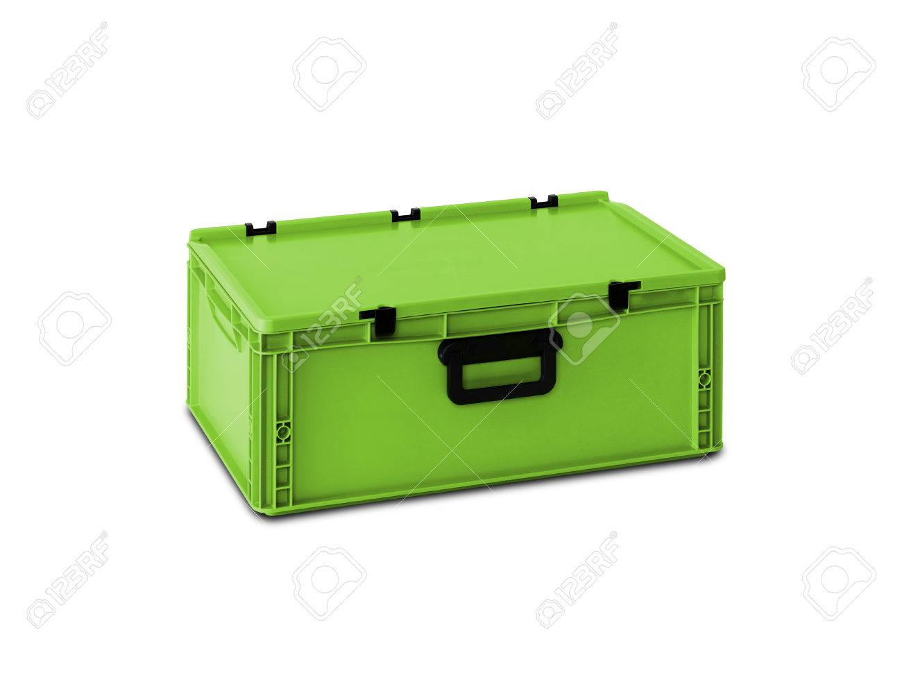 Box Kunststoff Stock Photo
