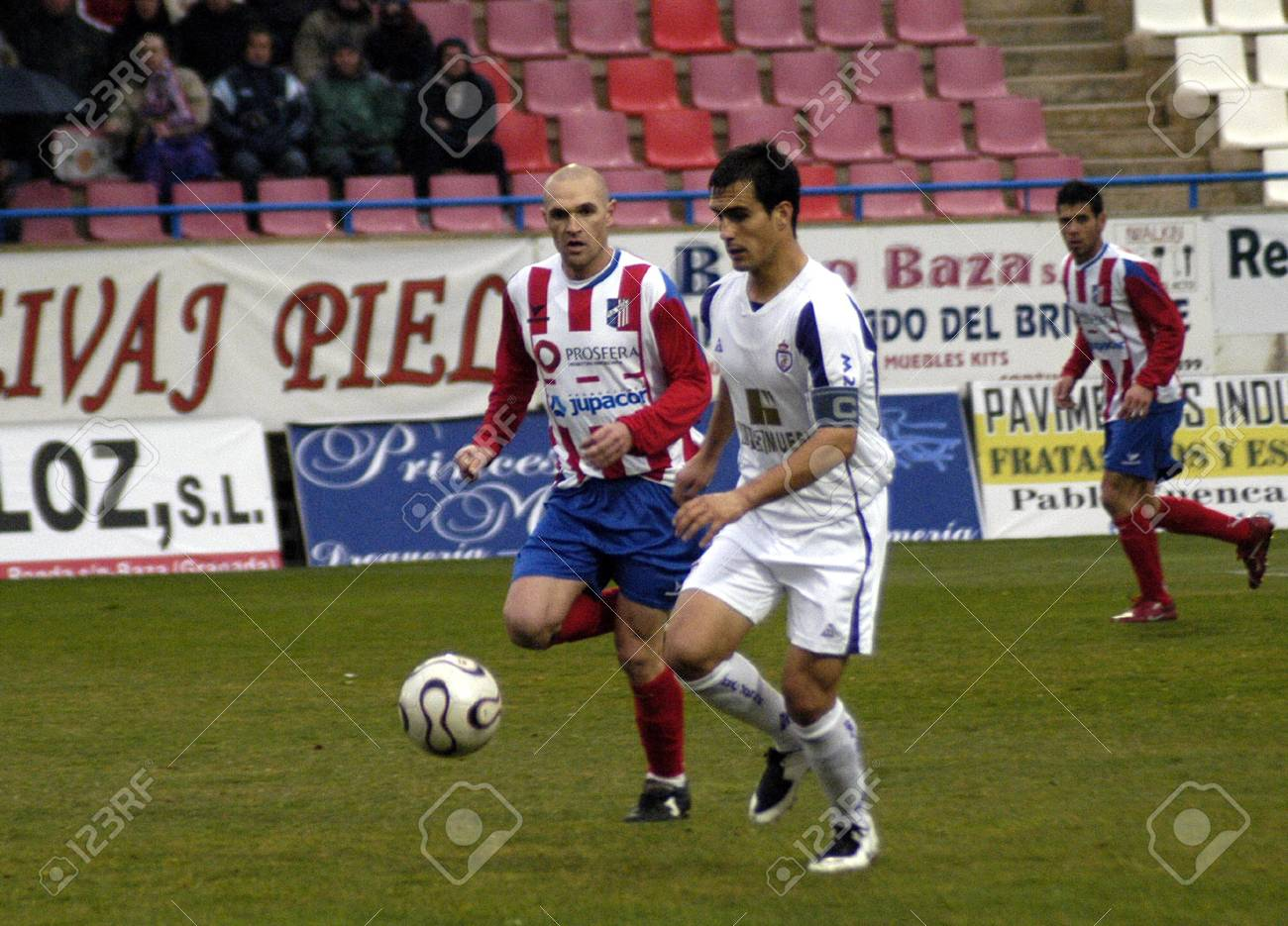 Muebles Baza 2008 02 17 Baza Granada Spain Football Game Between The