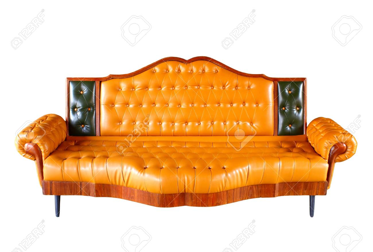 Retro Sofa Leather Retro Sofa