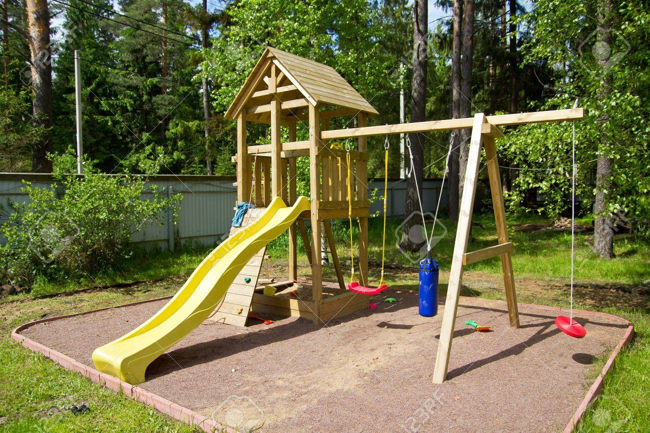 Outdoor Kinder Kinder Playground Outdoor