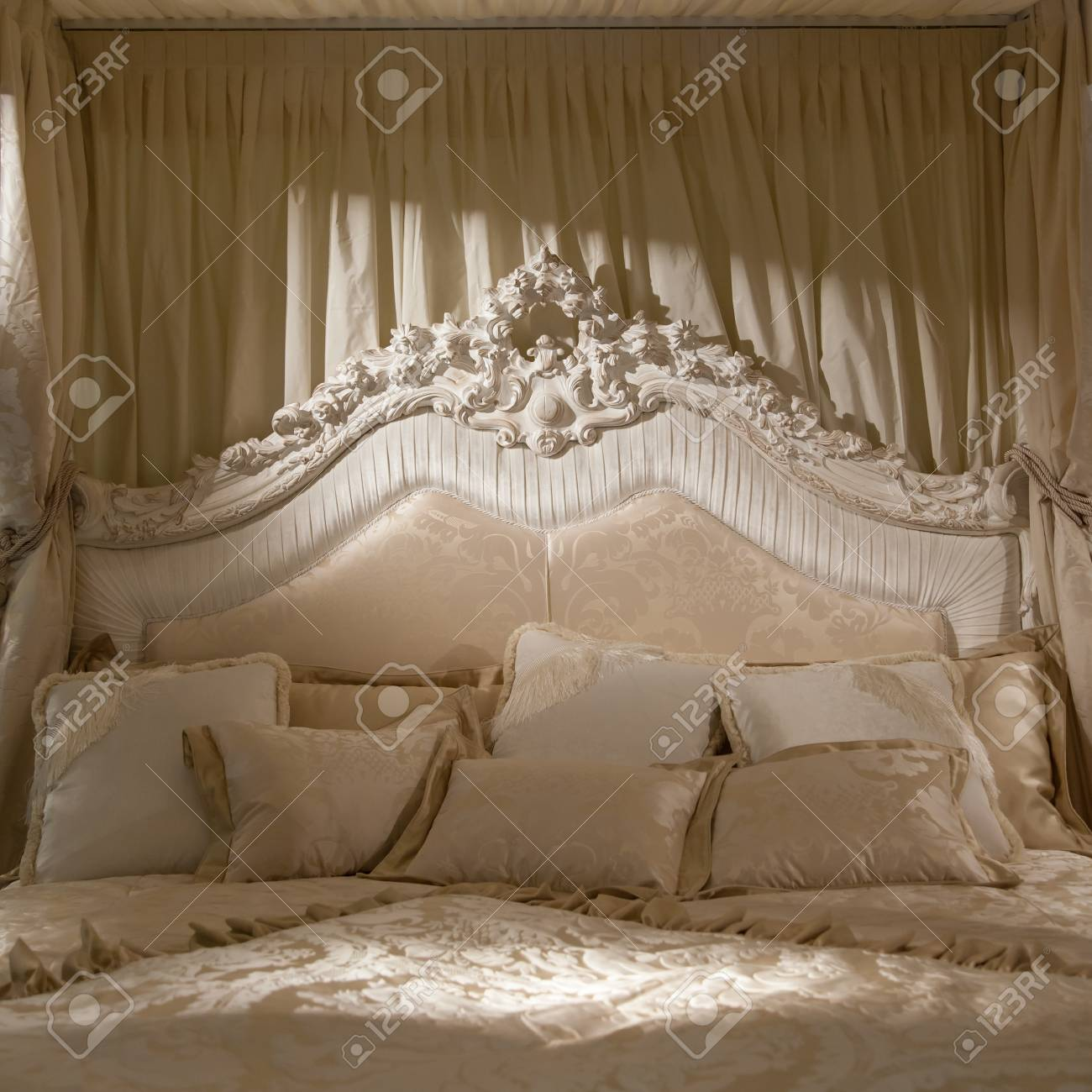 Romantik Schlafzimmer Stock Photo