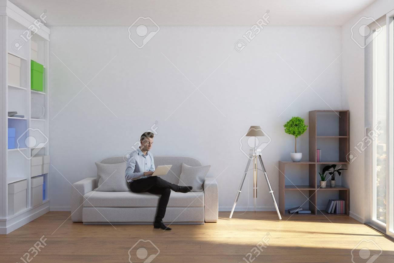 Salon Moderne Homme