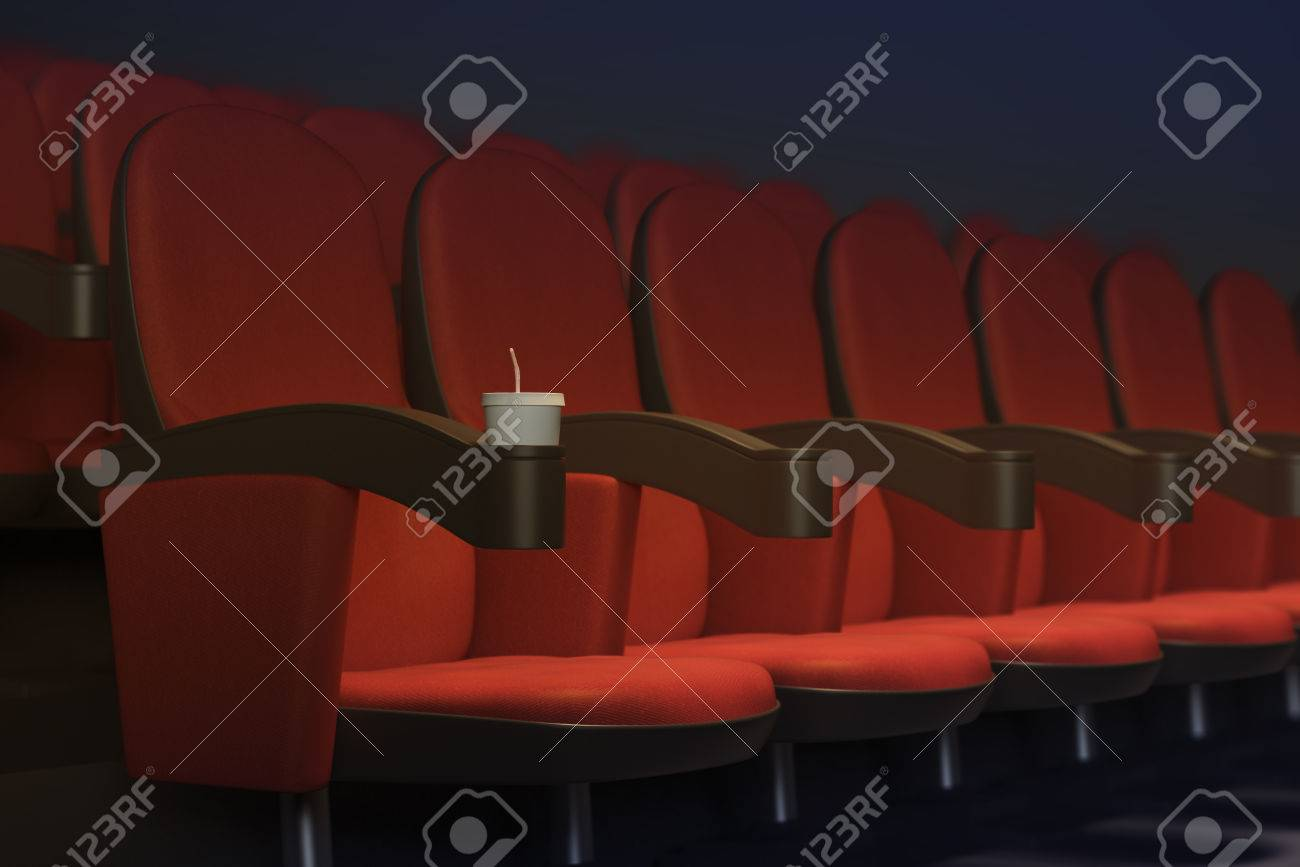 Sessel Theater Stock Photo