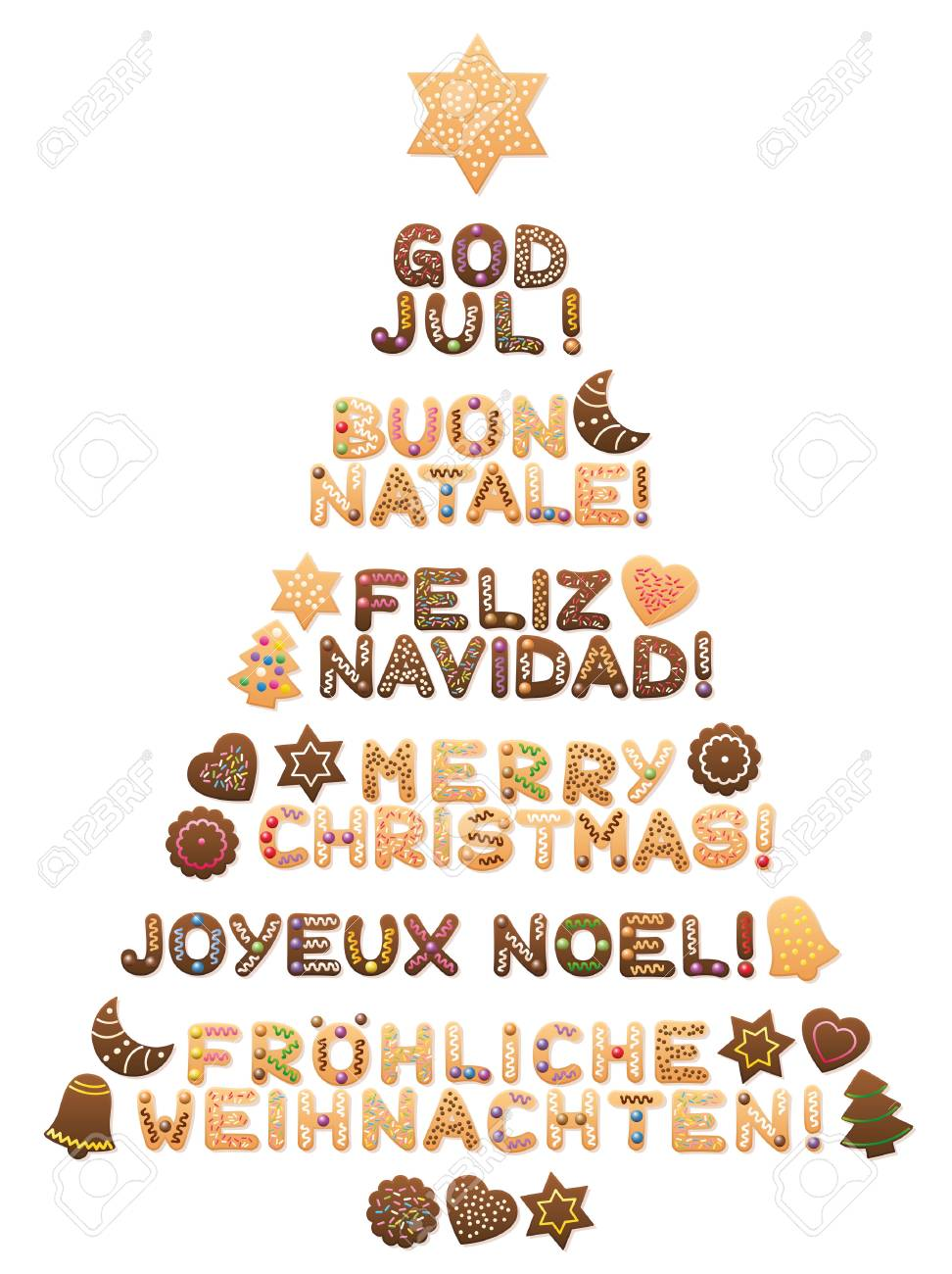Bilder Weihnachten In Spanien Stock Photo