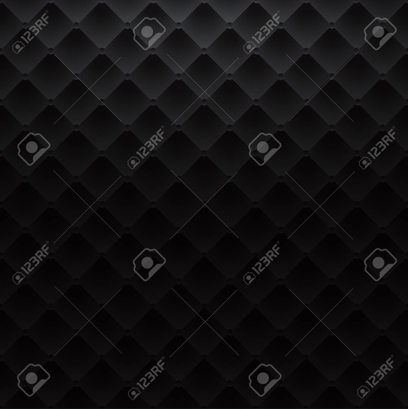 Sofa Texture Vector Black Square Luxury Pattern Sofa Texture Background Vector