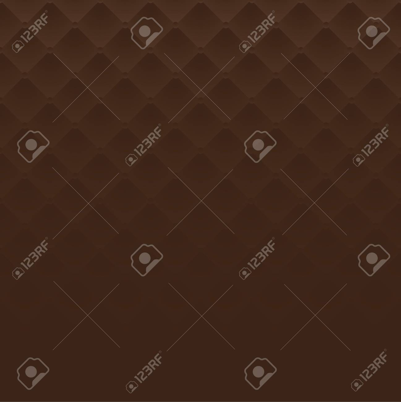 Sofa Texture Vector Brown Square Luxury Pattern Sofa Texture Background Vector
