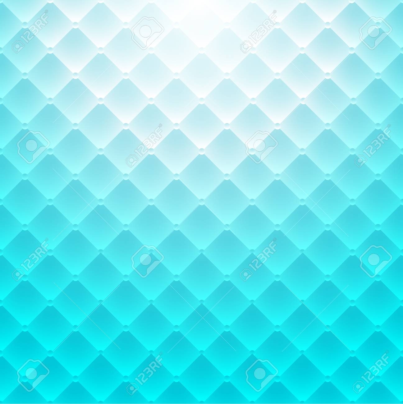 Sofa Texture Vector Abstract Backgroud Blue Square Pattern Luxury Sofa Texture