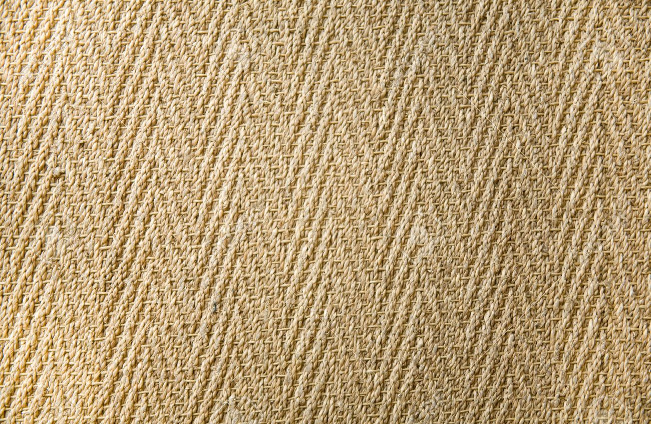Jute Teppich Stock Photo