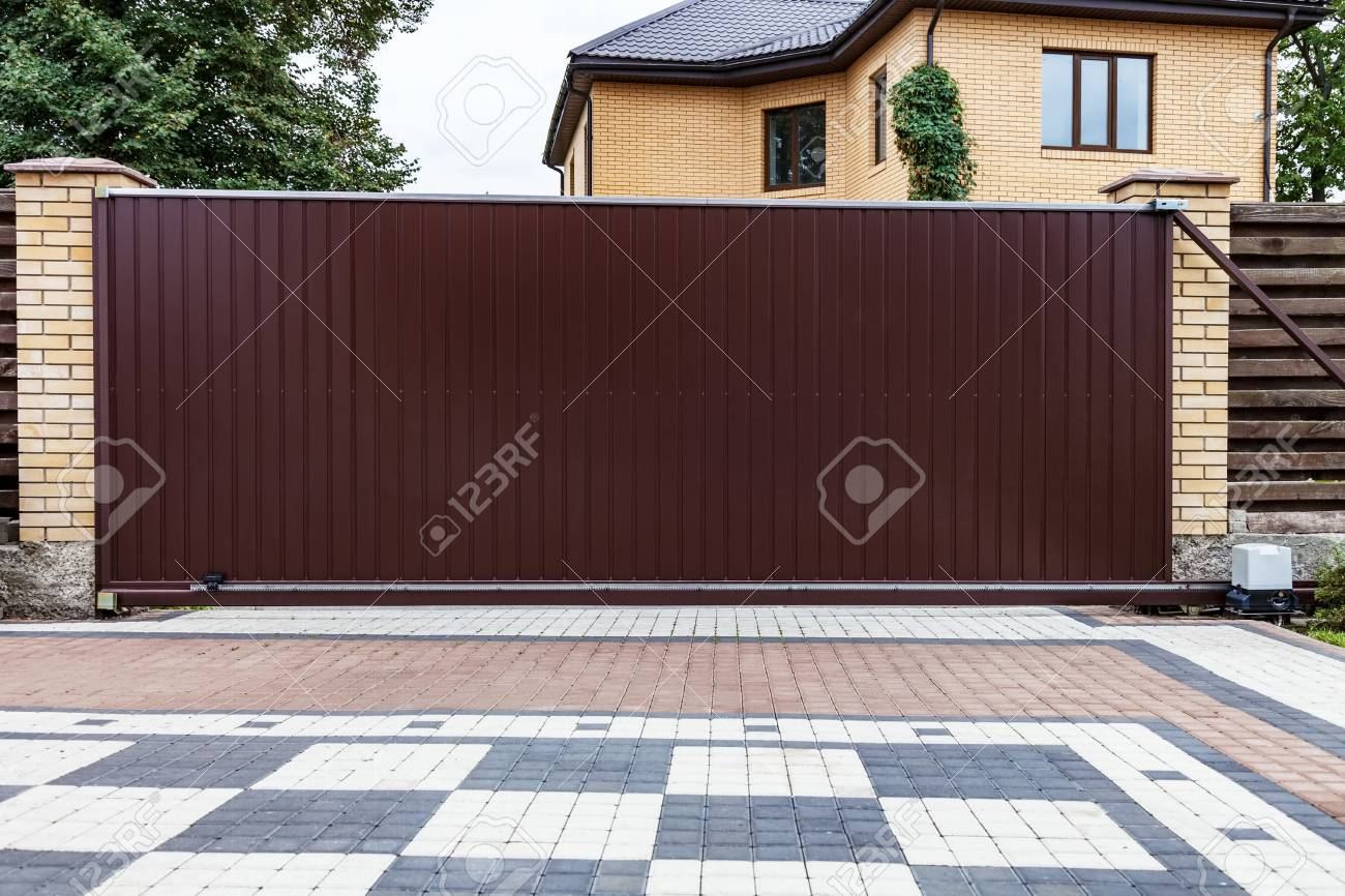Sliding Gate For Garage Modern Garage Door Large Automatic Sliding Garage Door Inside