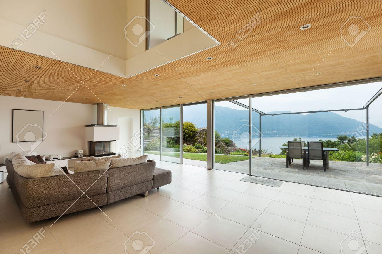 Architecture D\'intérieur Salon Moderne | Excellente Decoration ...