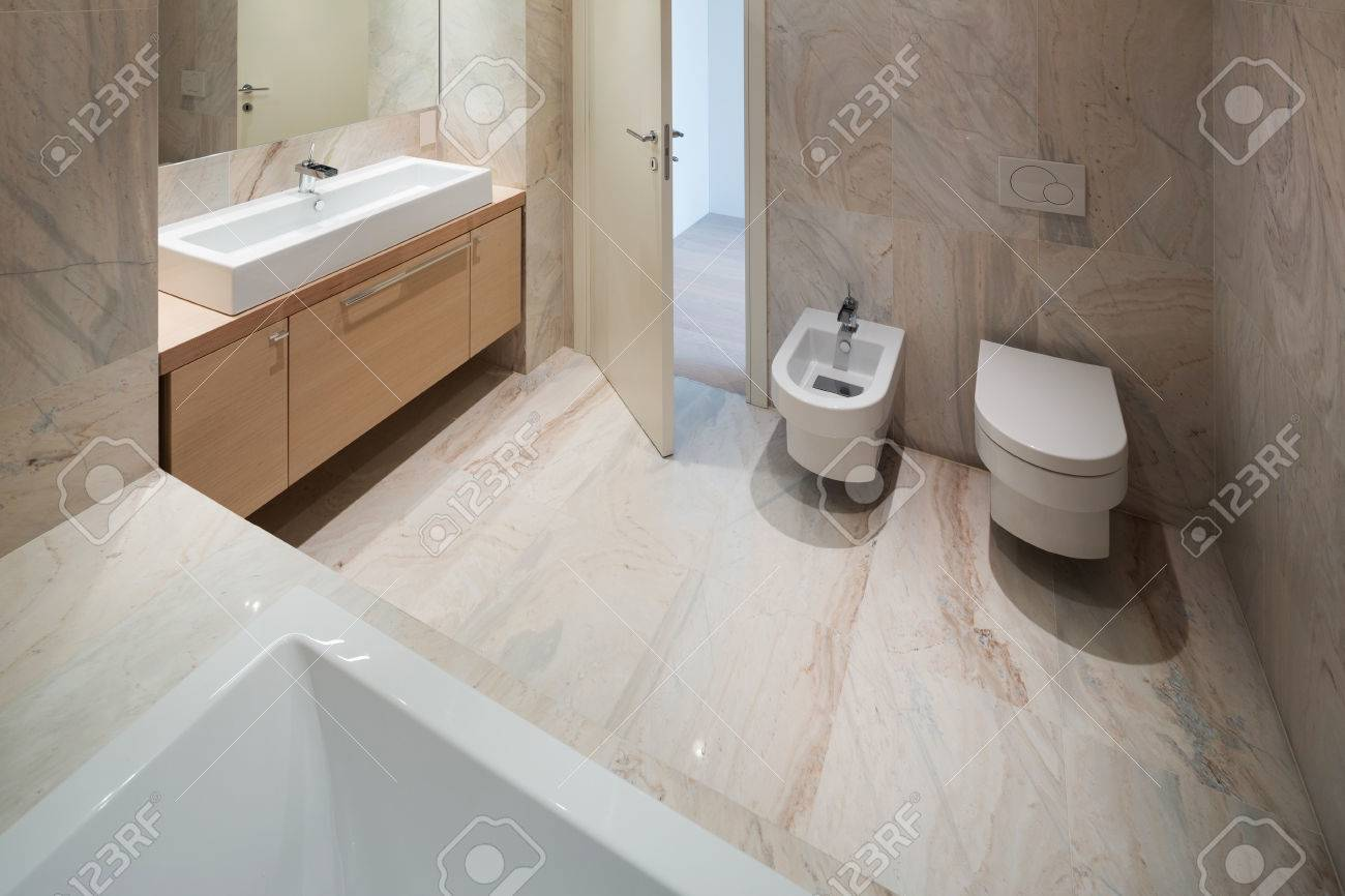 Marble Basin The Marble Bathroom With Basin Modern Design