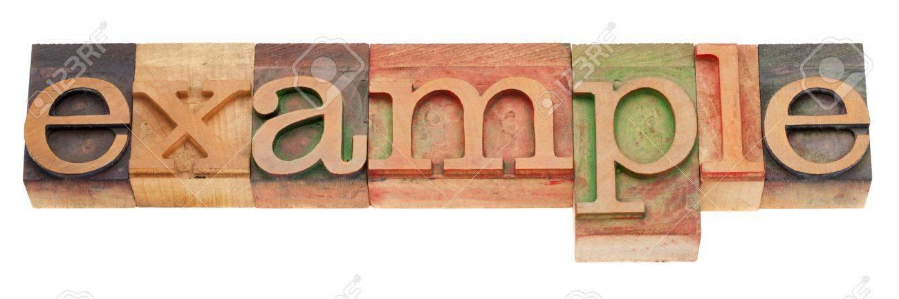 word example - Onwebioinnovate - example of word