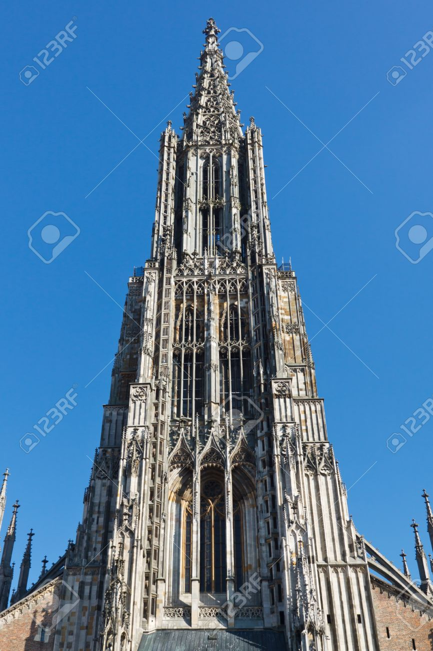 Ulm Deutschland Stock Photo