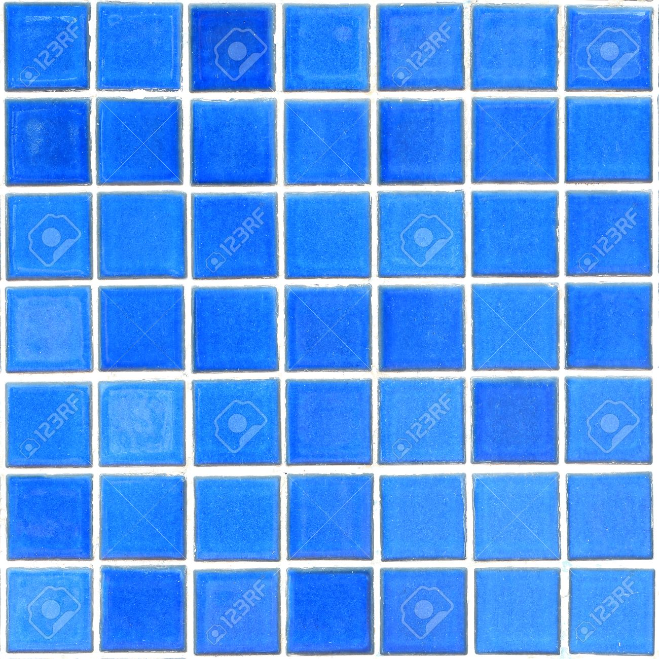 Fullsize Of Blue Mosaic Tile