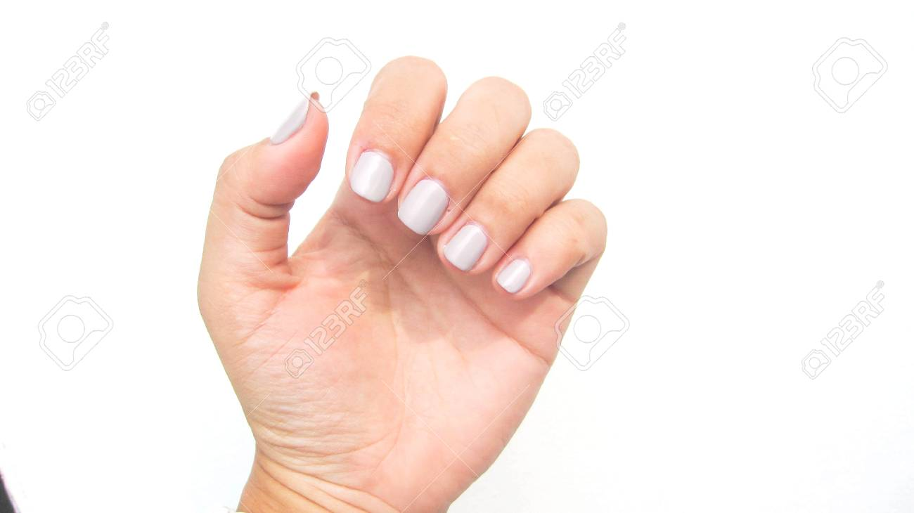 Nail Salon Stock Photo