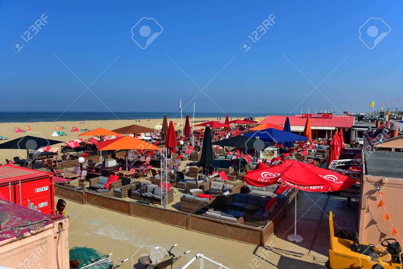 Scheveningen Beach Restaurants Scheveningen September 18 Bars And Restaurants Along The Sandy
