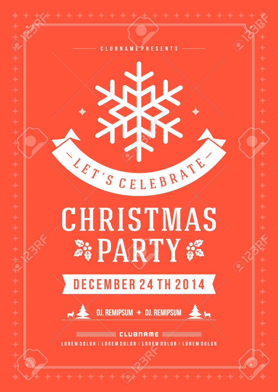 Fullsize Of Christmas Party Invitation