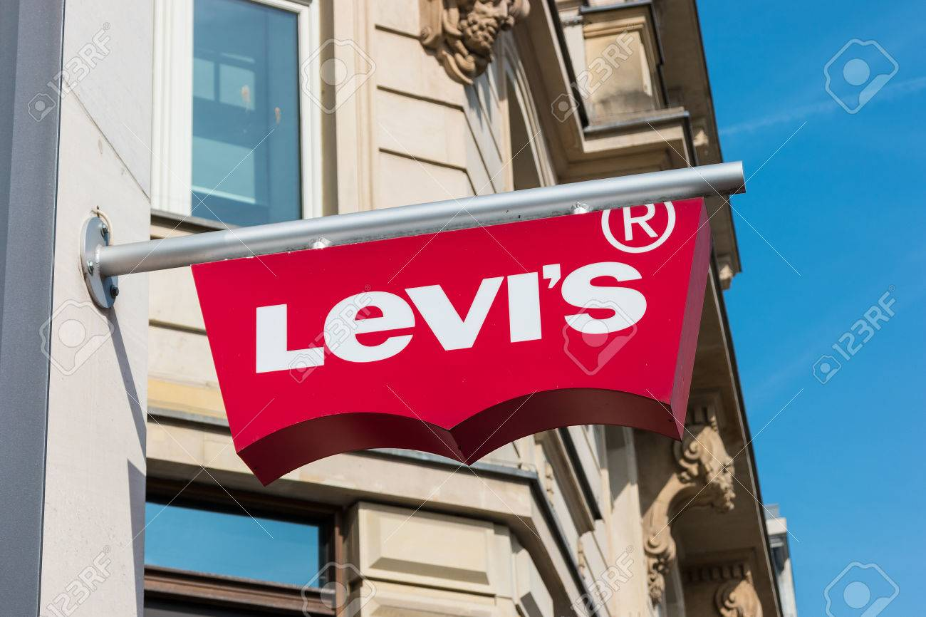 Levis Frankfurt Frankfurt Germany March 2017 Levi S Store Logo Founded In
