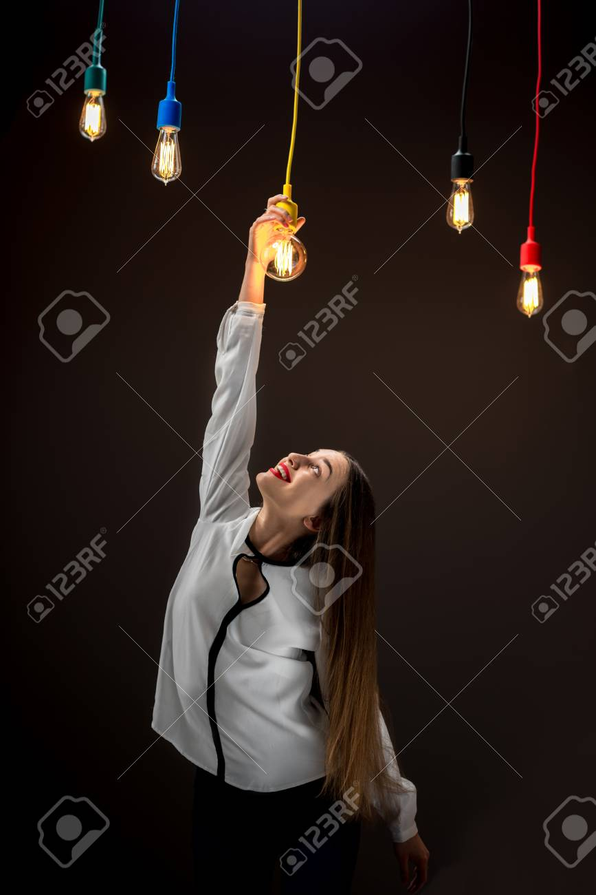 Lampe Kreativ Stock Photo