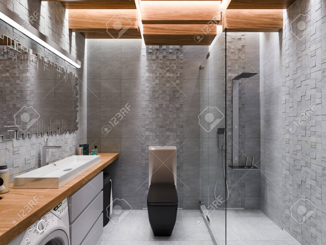 Badkamer Pimpen Badkamerverlichting : Badkamerverlichting led plafond looox light collection eclairage