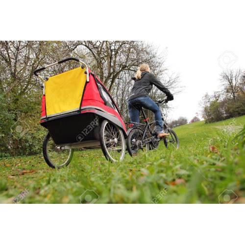 Medium Crop Of Child Bike Trailer