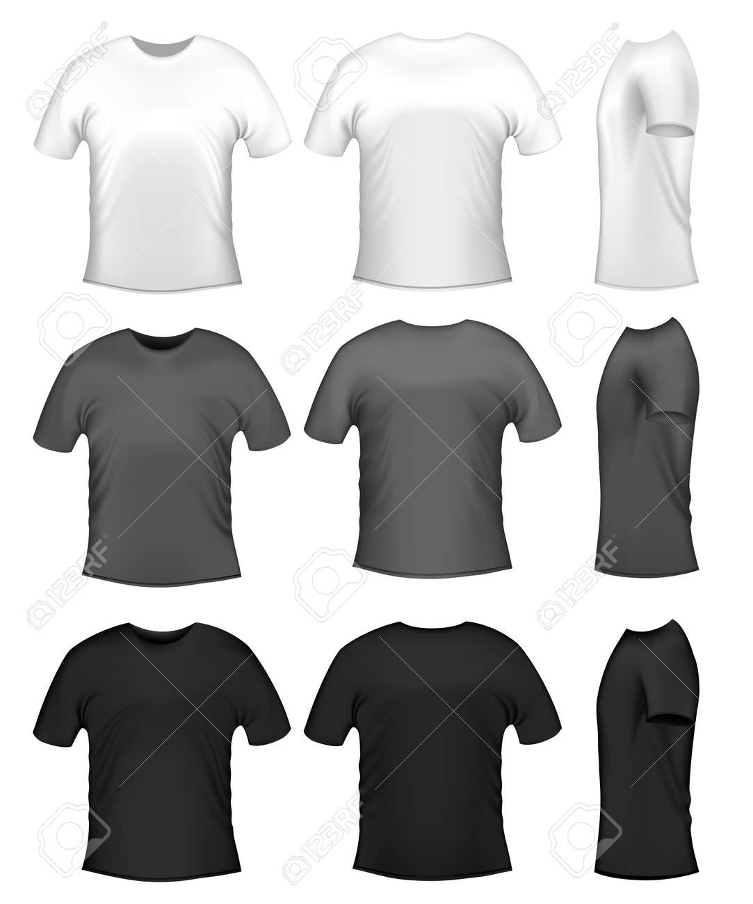 Black t shirt layout -  Black T Shirt Template Hd Men S T Shits Collection Of Download